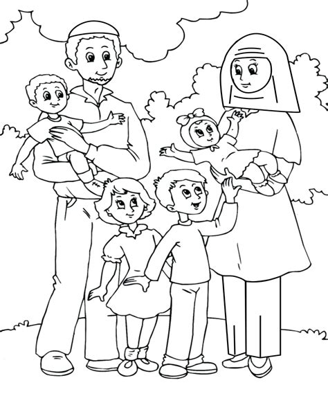family members coloring pages  getcoloringscom