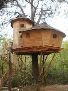 Cabane En Bois : cabane en bois dans les arbres ~ Premium-room.com Idées de Décoration
