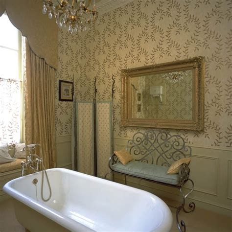 wallpaper in bathroom ideas traditional bathroom wallpaper bathroom wallpaper 10