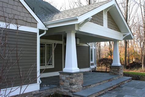 craftsman style porch craftsman style front porch columns