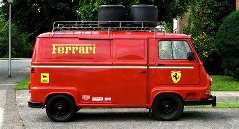 ferrari minivan ferrari trimmed 1979 renaut estafette van from rush movie
