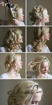 Hochsteckfrisurenen Zum Selber Machen Kurze Haare by Hochsteckfrisuren Zum Selber Machen Locken Frisuren Kurze Haare