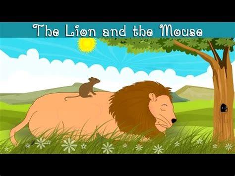 lion   mouse kindergarten moral story  kids