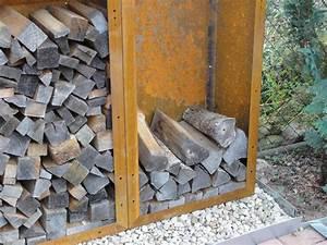Regal 1m Hoch : r ckwand f r kaminholzregal 1 9m x 1 2m corten edelrost ~ Indierocktalk.com Haus und Dekorationen