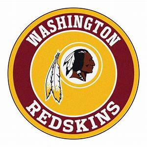 FANMATS NFL Washington Redskins Burgundy 2 ft 3 in x 2