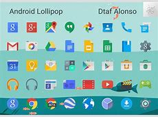 Android Lollipop Icons by dtafalonso on DeviantArt