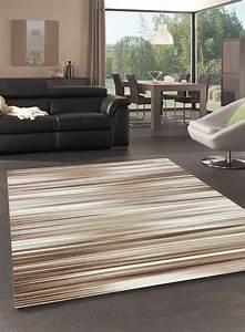 Tapis Salon Moderne : tapis de salon floua marron ~ Teatrodelosmanantiales.com Idées de Décoration