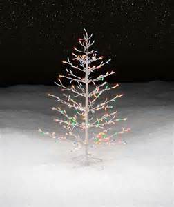 trim a home 174 4 5 multicolor lighted stick christmas tree shop your way online shopping