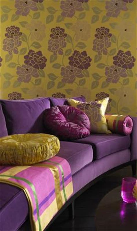 purple green living room yellow green and purple living room arabia weddings