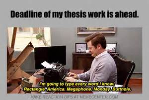Screw you thesis    The Thesis Whisperer