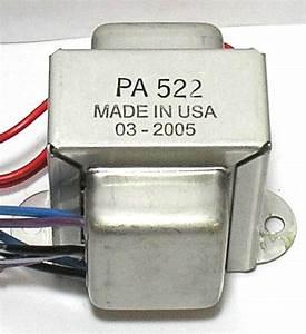 Pa522 120  240v Power Transformer For Dyna Pas Dynaco