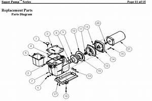 Hayward Super Pump Lid - 1600