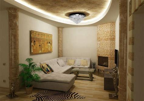 kreative wohnideen aegyptischer stil fuer pure exotik