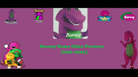 Barney And The Backyard Previews - barney home previews trailers 1988 2002 my version