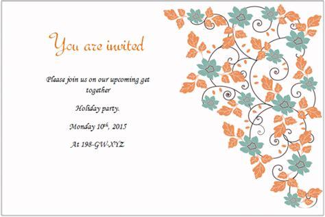 holiday invitation templates  party picnic