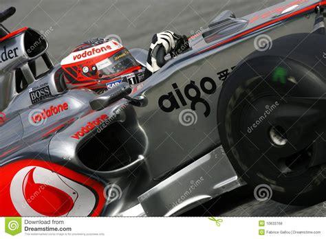 Mclaren F1 2009 by F1 2009 Heikki Kovalainen Mclaren Editorial Stock Photo