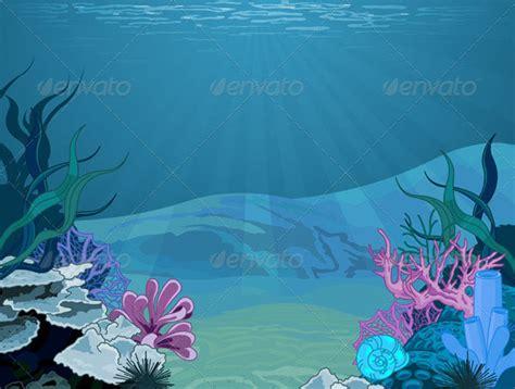 16 Nice Underwater Illustration Vectors