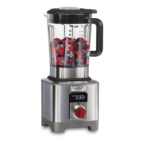 Kitchen Blender Specs by High Performance Blender Wolf Gourmet Countertop