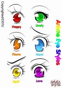 Anime Eye Styles [Fantasy Version] -KYU by kyupods on ...