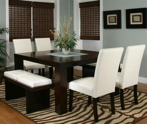 square dining tables square dining table with frosted glass insert by cramco 2440