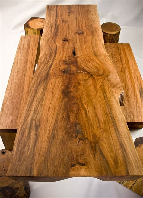 rustic wood furniture  original contemporary room