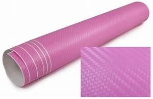 Echt Carbon Folie : 3d carbon folie selbstklebend 30cm meter rosa pink ~ Kayakingforconservation.com Haus und Dekorationen