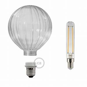 Ampoule Led Decorative : ampoule modulaire d corative led g125 ballon transparent 5w e27 dimmable 2700k ~ Teatrodelosmanantiales.com Idées de Décoration