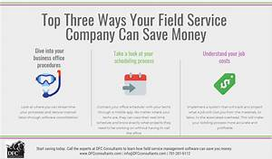 Erp Vendors Top Three Ways Your Field Service Company Can Save Money