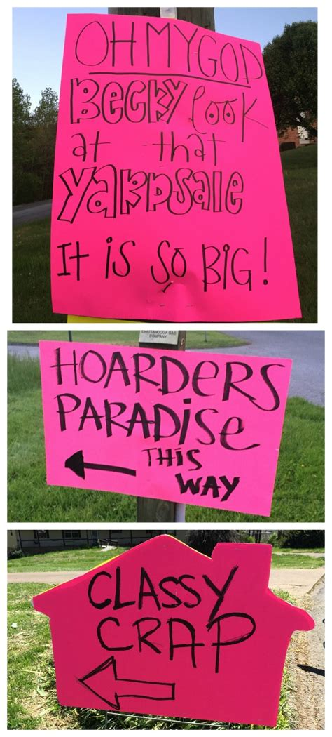 best garage sale signs the best yard sale tips to get rid of all your junk