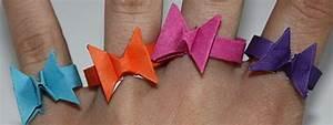 Schmetterlinge Aus Papier : origami fingerringe in schmetterlingsform falten ~ Lizthompson.info Haus und Dekorationen