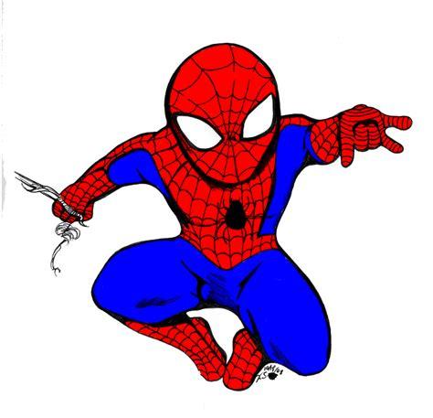 spiderman chibi  beekzgaming  deviantart