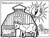 Coloring Pages Ranch Farm Printable Getcolorings sketch template