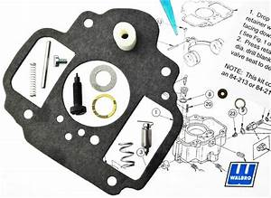Carburetor Kit  U0026 Diagram Lua7 Wa22 Fits Onan 146