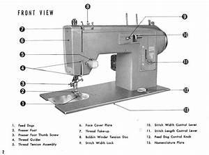 Kenmore Model 12 Sewing Machine Instruction Manual