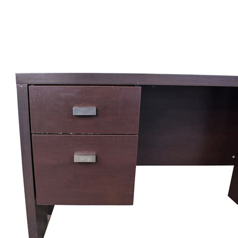 desks for sale at walmart 76 off walmart walmart brown desk with two drawers tables