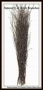 25 Natural Birch tree branches-Wedding table decor-Birch