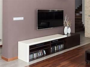 Kommode Weiß 2m : wohntrend lowboards wohnzimmer fernsehregal lowboard tv schrank ~ Indierocktalk.com Haus und Dekorationen