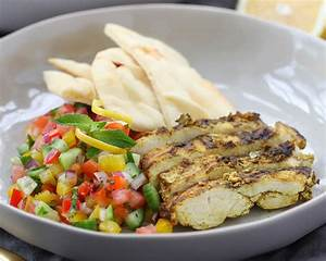 Chicken Shawarma with Israeli Salad | Litehouse Foods