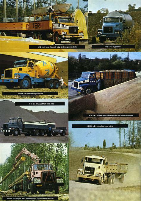 historic trucks volvo  sales brochures