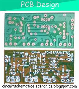 Parametric Tone Control Ic4558 And Pcb In 2019