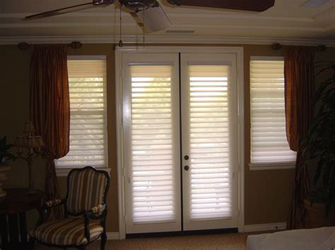 Decorating Roman Shades for French Doors   Latest Door
