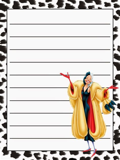 dalmatians  printable notebook   fiesta