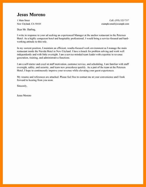 good cover letter template 6 good cover letter sample resumes great