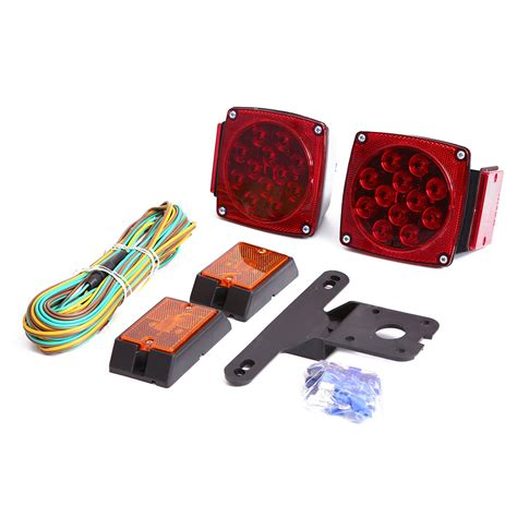 Czc Auto Led Submersible Trailer Tail Light Kit For