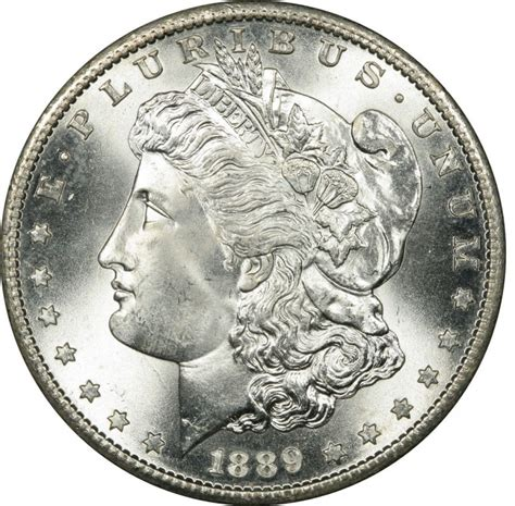 1889 Morgan Silver Dollar Values And Prices  Past Sales