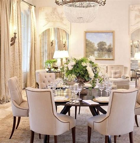 Luxury Round Dining Room Tables For 6