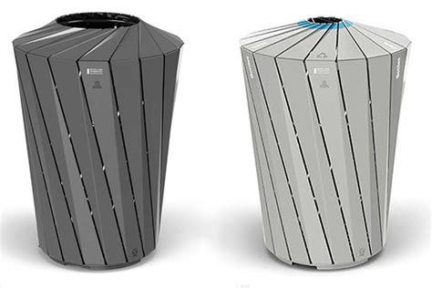 custom made designer trash bins pop up in nyc parks nyc