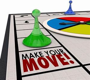 Make Your Move Board Game Piece Action Forward Turn Stock ...