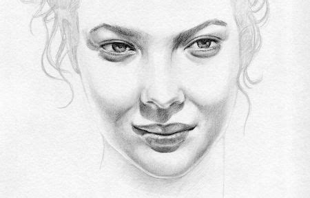 contoh gambar sketsa wajah pensil bagus