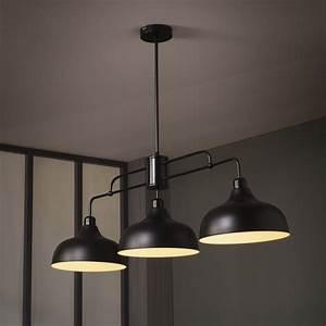Luminaire Industriel Ikea : luminaire suspension lincoln ~ Teatrodelosmanantiales.com Idées de Décoration